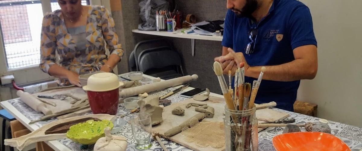 Découverte modelage céramique à Cannes