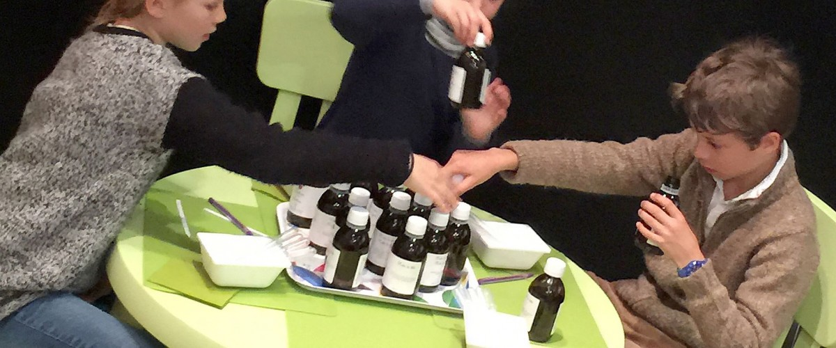 Atelier de création de parfum pour enfant
