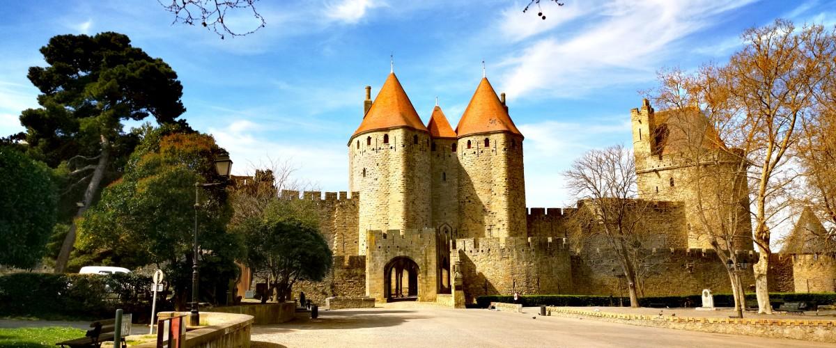 Visite guidée pédestre de la cité de Carcassonne