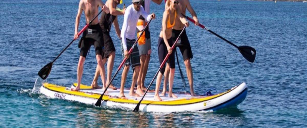 Paddle ou Paddle géant XL (8 places) à Saint-Laurent-Du-Var
