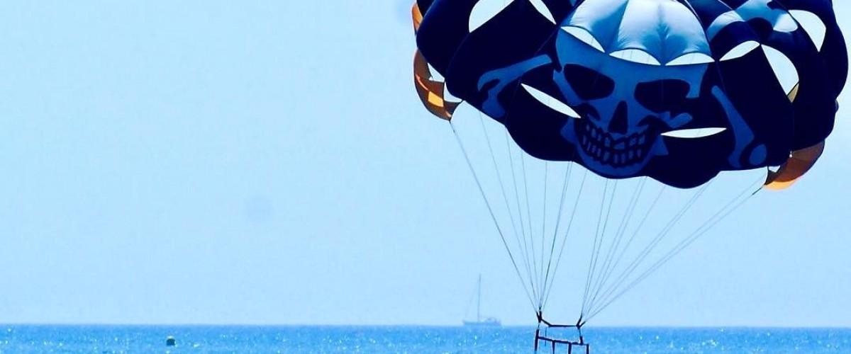 Vol en parachute ascensionnel dans la French Riviera + 1h de Paddle