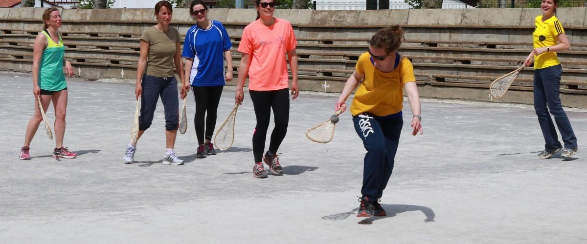 Initiation à la pelote basque