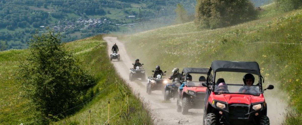 Initiation de Buggy et Quad à Bourg Saint Maurice