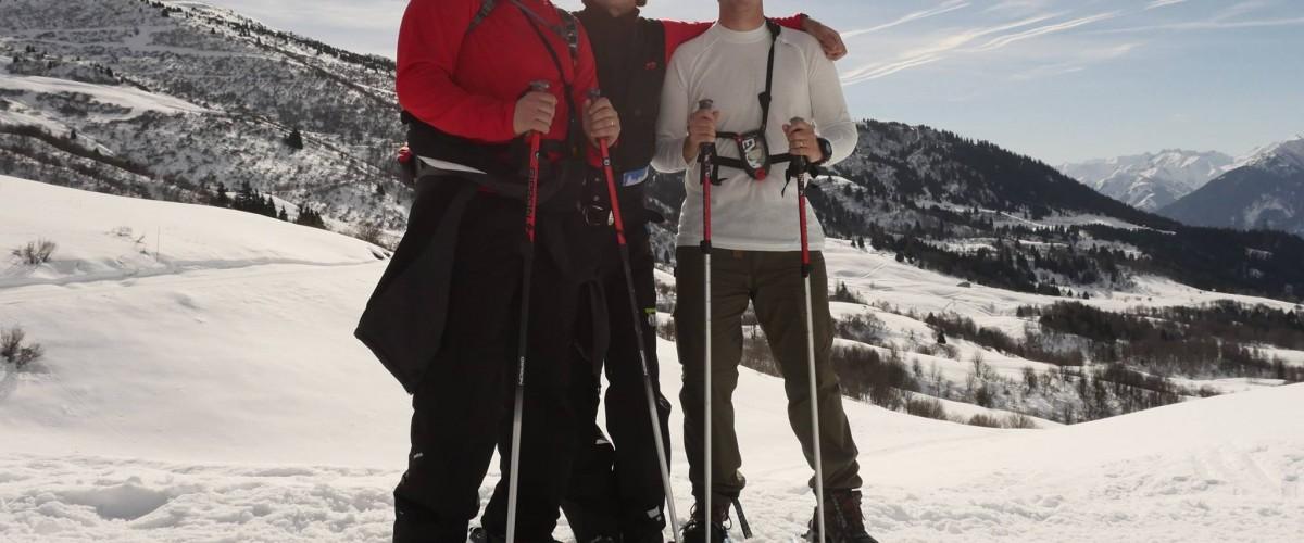 Randonnée en raquette à neige au cœur du Parc national de la Vanoise