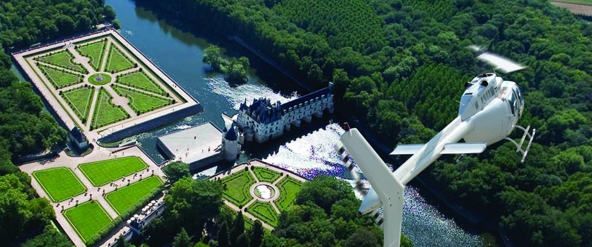 Châteaux et Jardins de la Loire, vus du ciel