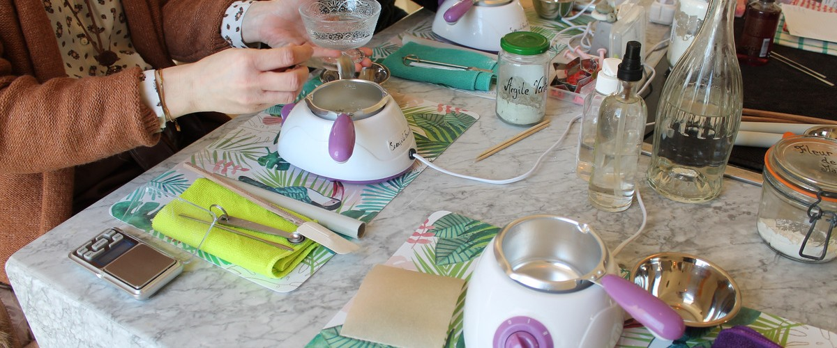 Ateliers cosmétiques Do It Yourself