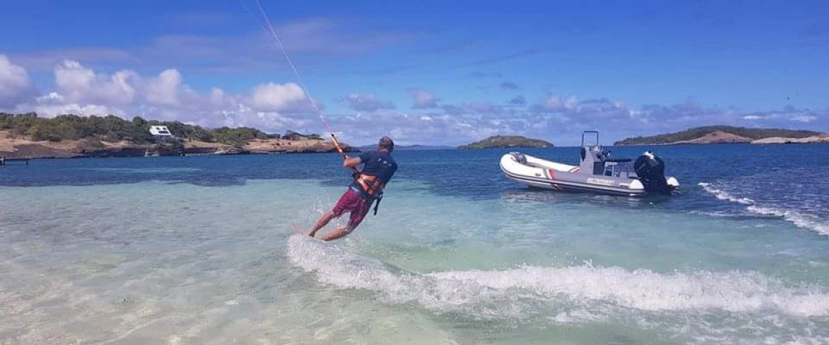 Cours de kitesurf en Martinique