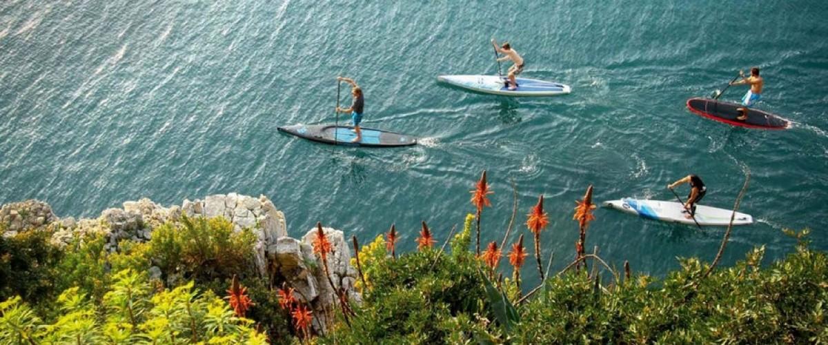 Initiation paddle au Pays Basque