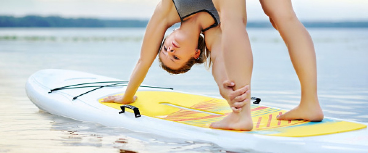 Paddle Pilates dans le Pays Basque