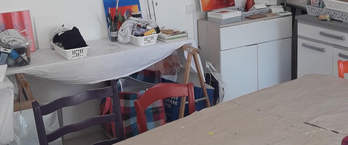 Atelier d'art-thérapie près des Pyrénées