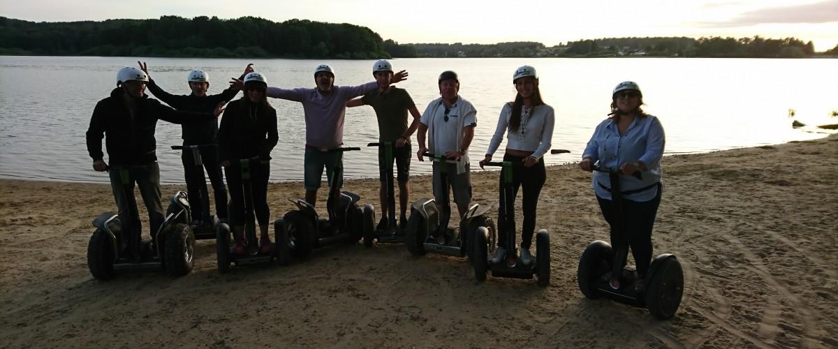 Balade en segway au Lac de Bouzey