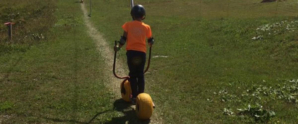 Parcours aventure multi-activités pour enfants