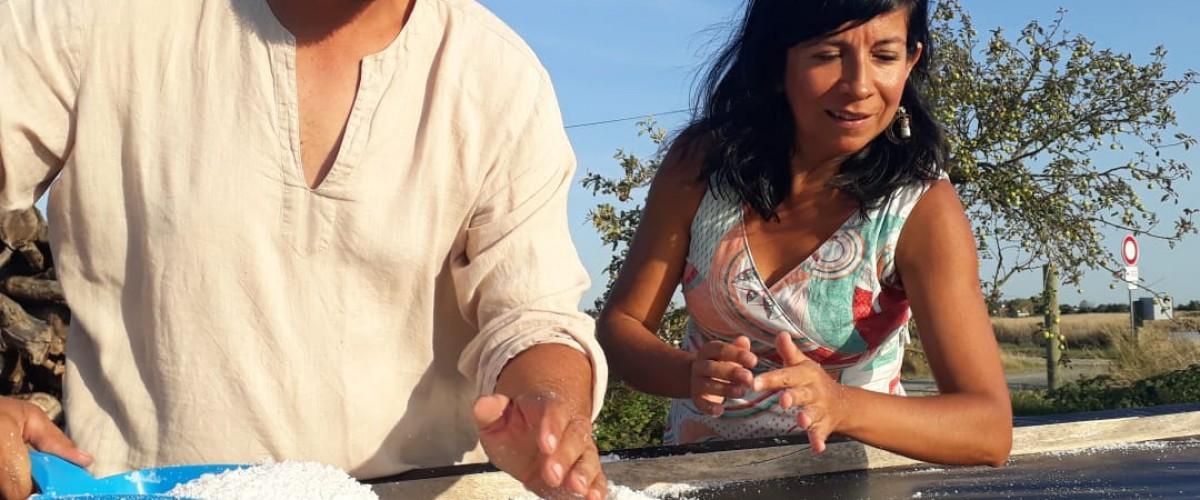 Dans la peau d'un saunier: découverte d'un marais salant