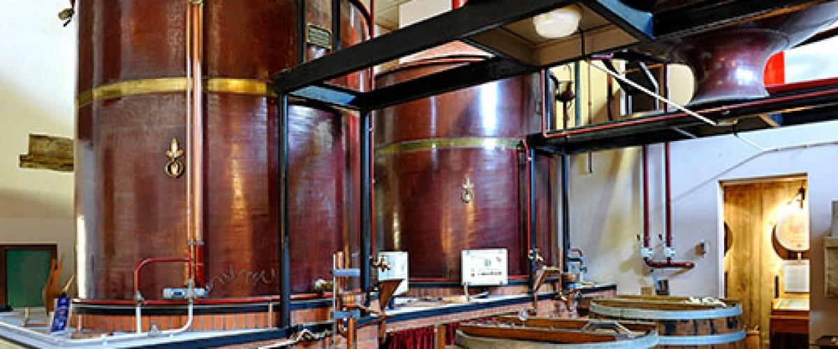 Visite de l'écomusée du Cognac