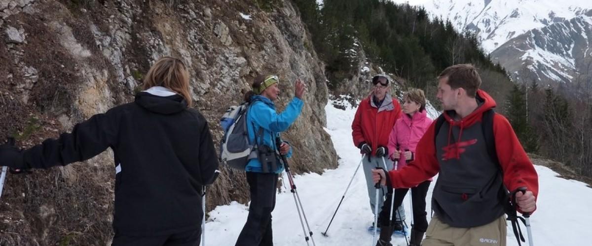 Pack 5 jours en raquettes dans les Alpes