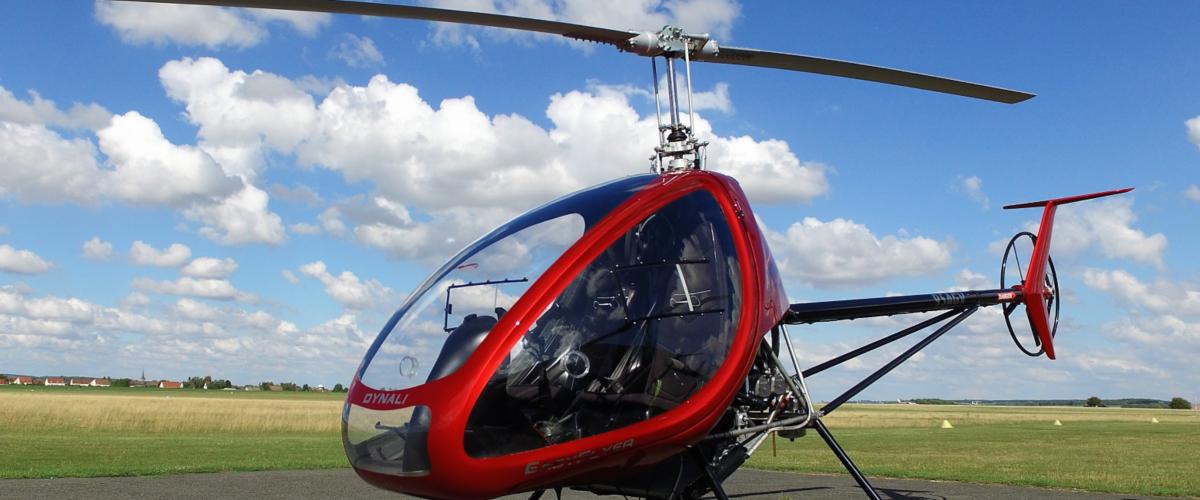 Bapteme en Hélicoptère ULM dans le ciel amiénois