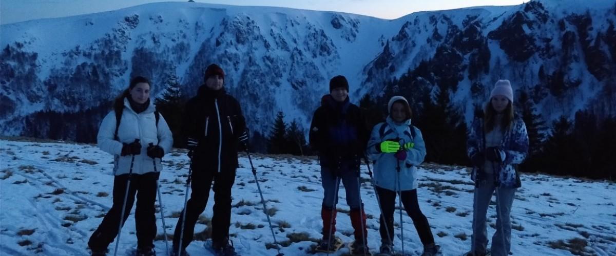 Promenade en raquettes nocturne à la Forêt-Noire