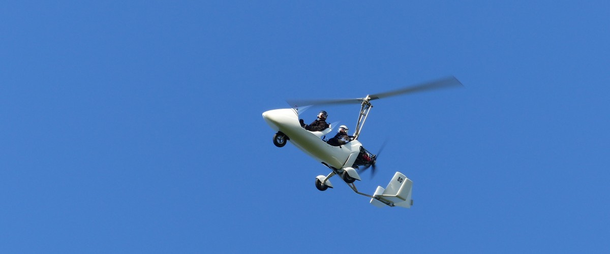 Prenez les commandes d'un ULM autogire à proximité d'Amiens