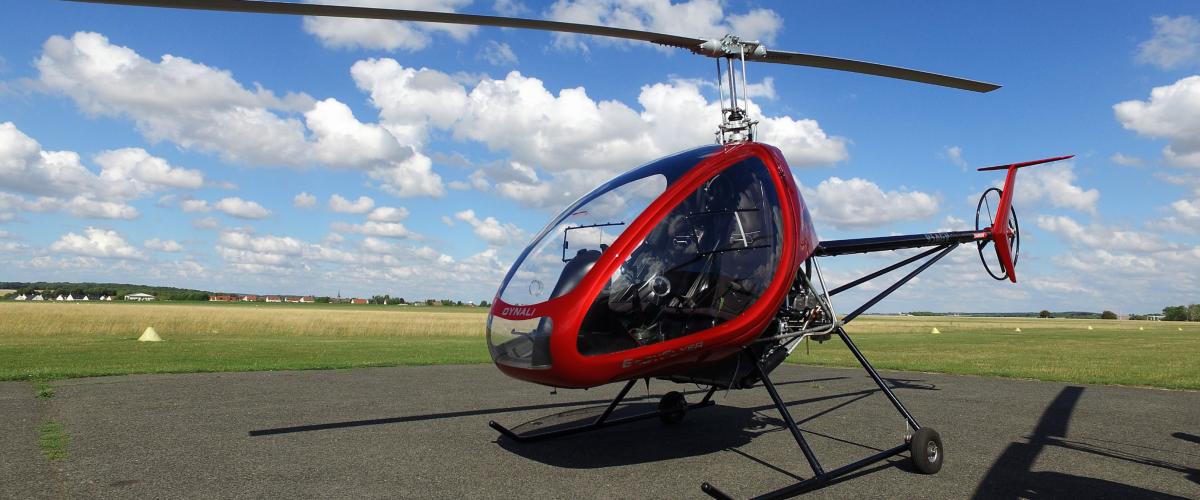 Découverte du pilotage en ULM hélicoptère proche d'Amiens