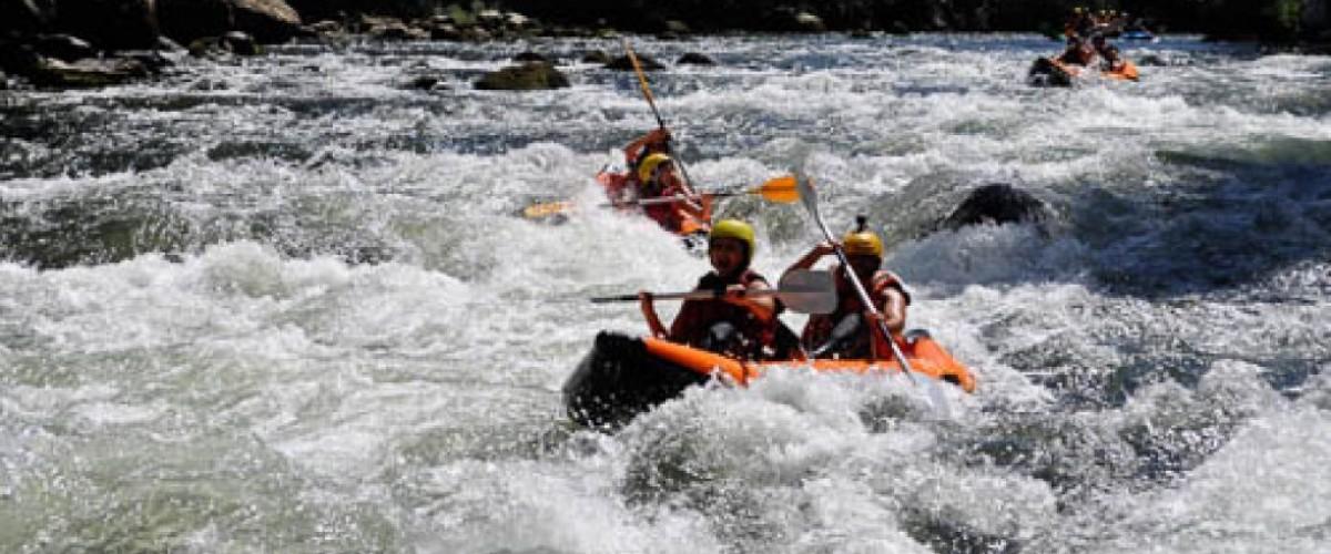 Canoë Rafting sur l'Ariège