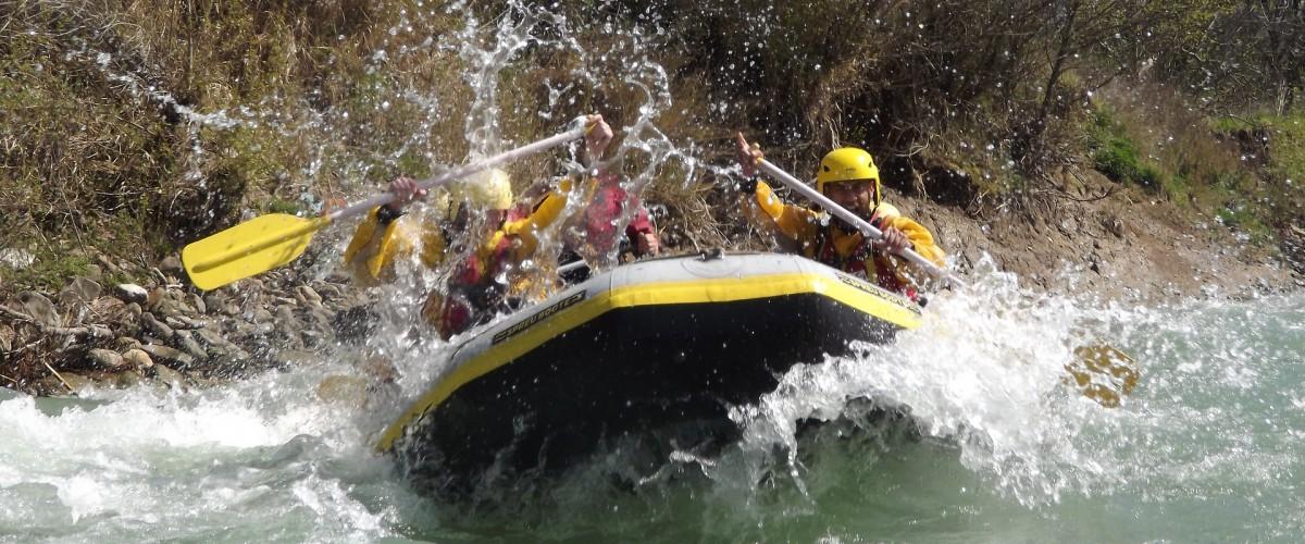 Rafting Printanier en Ariège