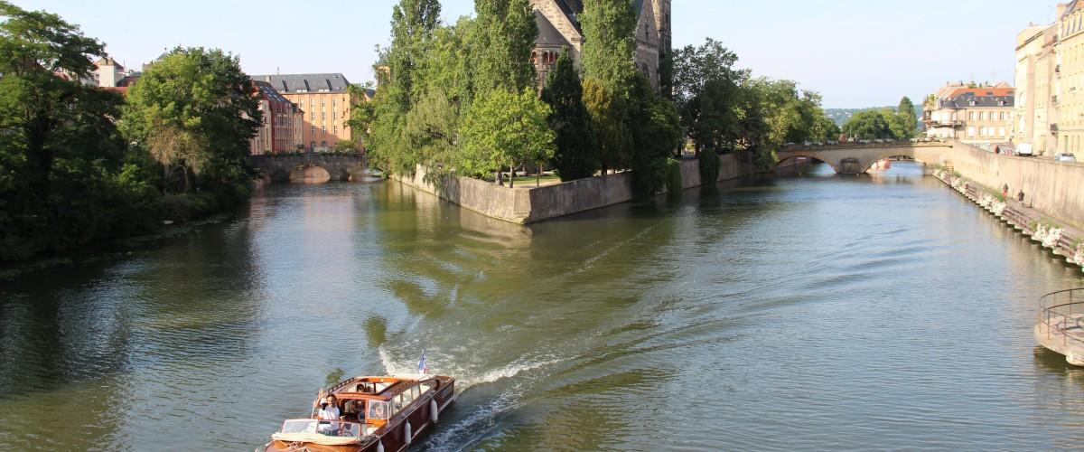 Promenade d'exception en bateau sur la Moselle