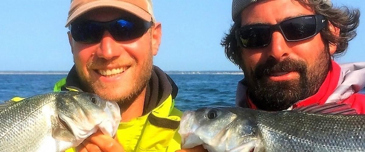 Sortie pêche en groupe en Charente Maritime