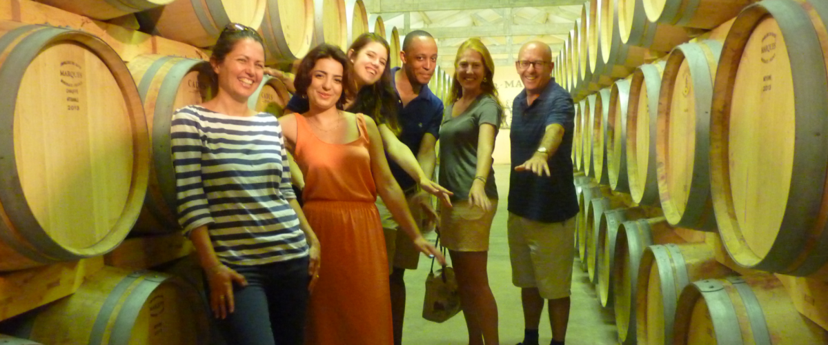 Atelier œnologique à Bordeaux