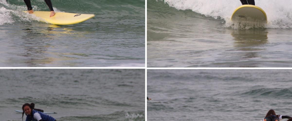 Stage sensation de surf dans les Landes