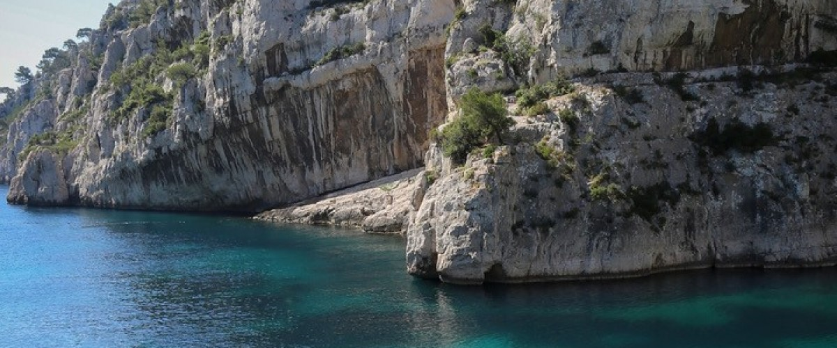 Excursion en paddle dans les Calanques de Cassis