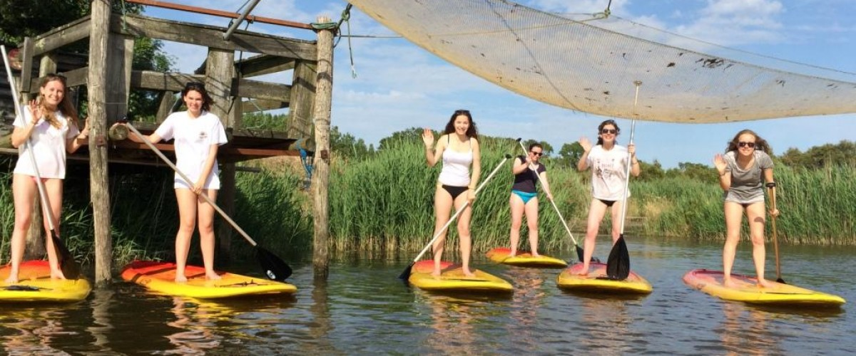 Stand up Paddle aux Sables d'Olonne