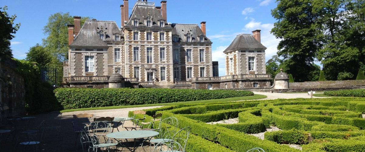 Visite guidée d'un des grands châteaux normands !