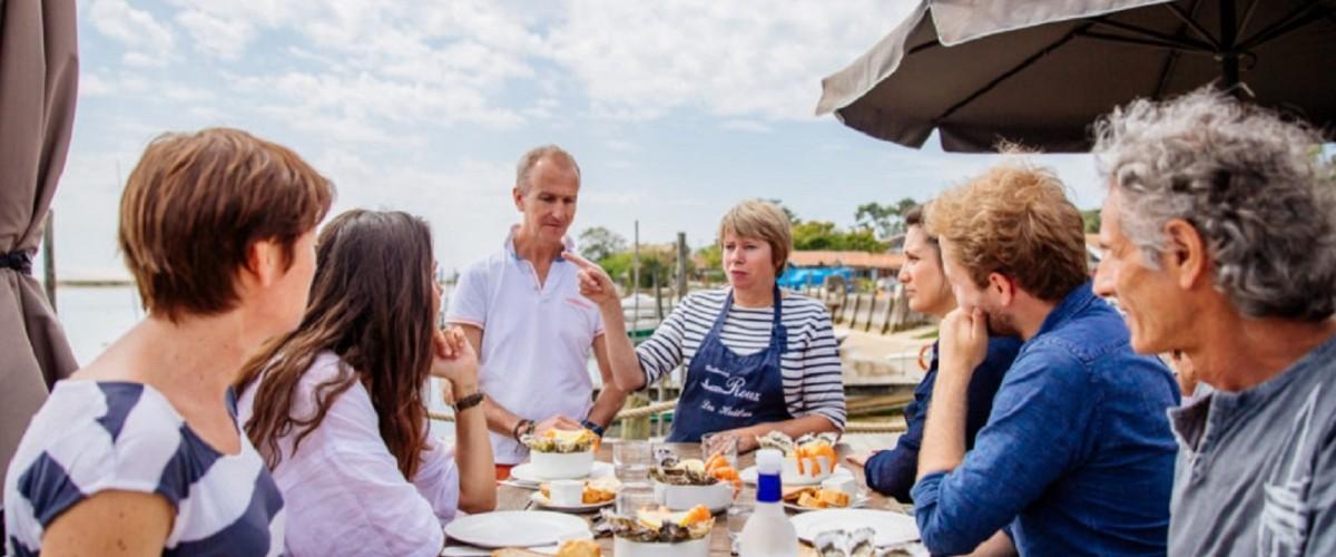 Superbe visite gourmande dans le Cap Ferret