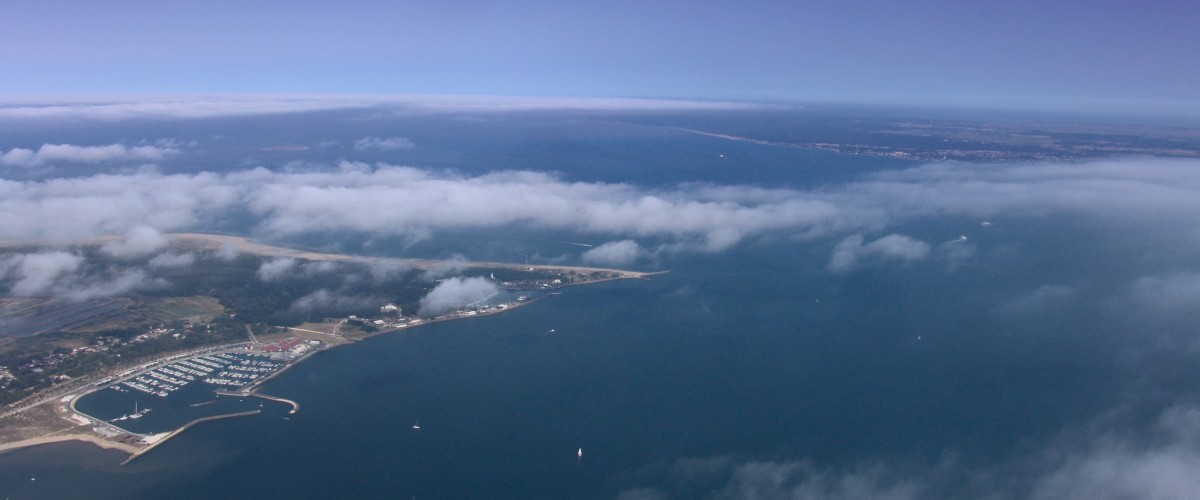Découverte des grands lacs landais en ULM Pendulaire