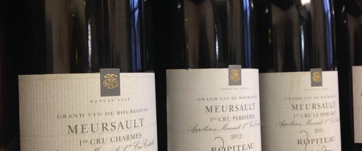Découverte du vignoble Meursault et de ses blancs prestigieux