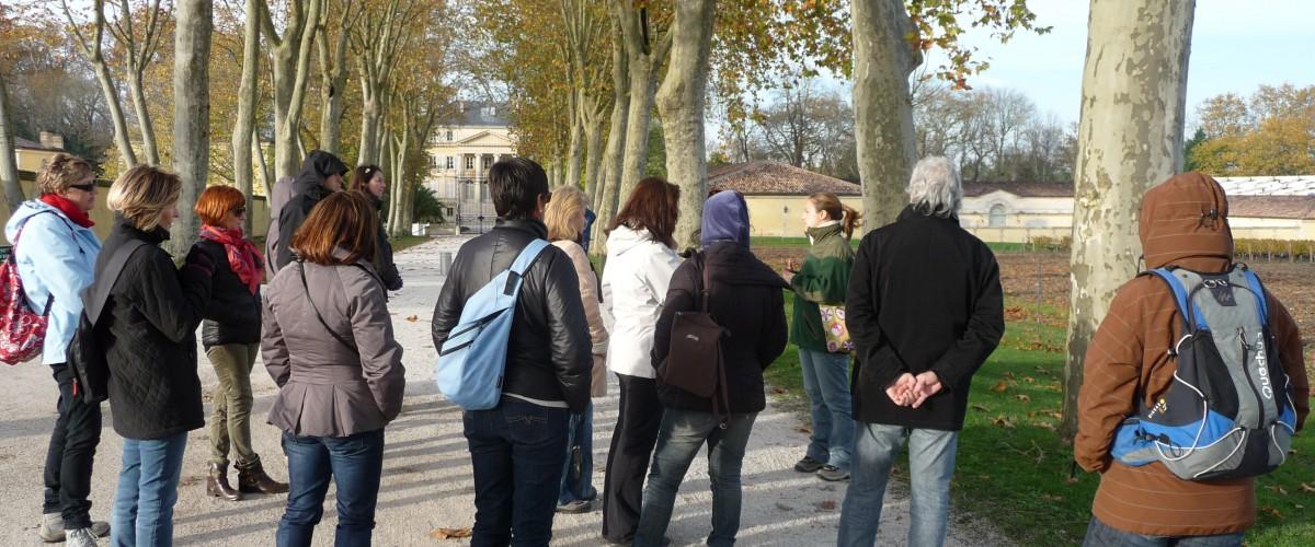 Balade pédestre autour de l'Eau et du Vin à la découverte de l'Estuaire de la Gironde  !