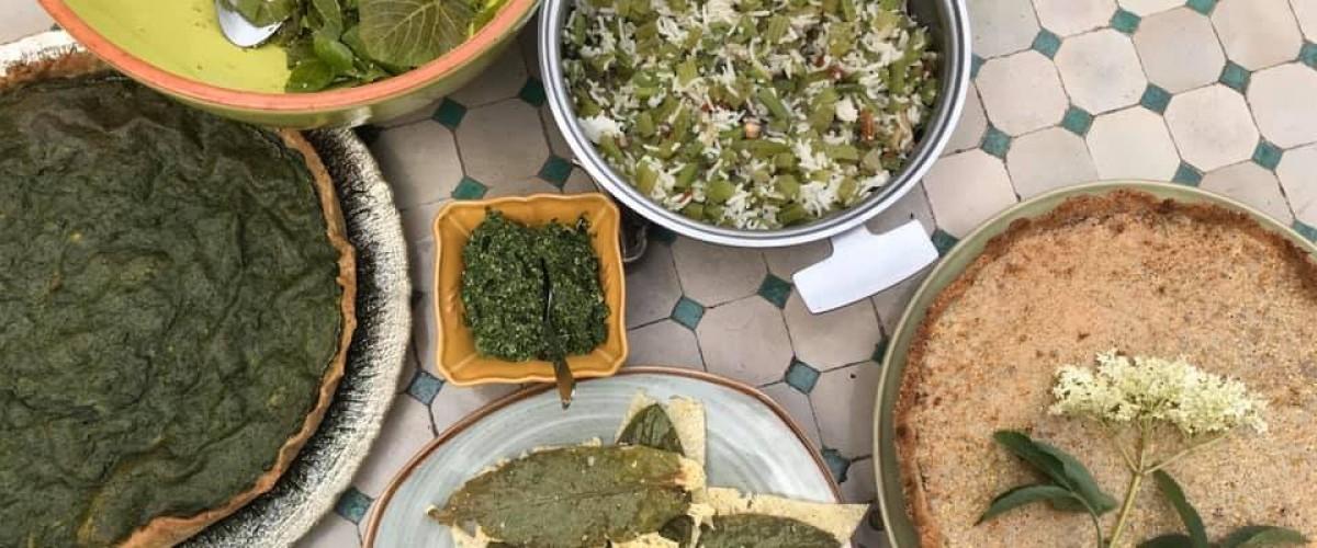 Journée Cuisine aux Plantes Sauvages