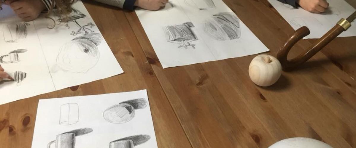 Atelier dessin à Saint-Malo