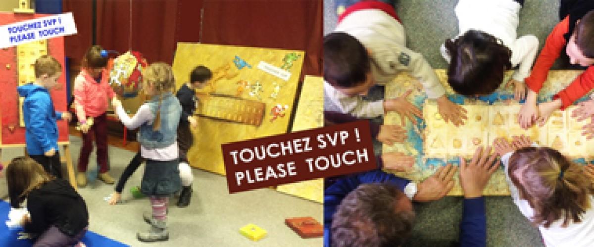 Atelier artistique pour groupe d'enfants