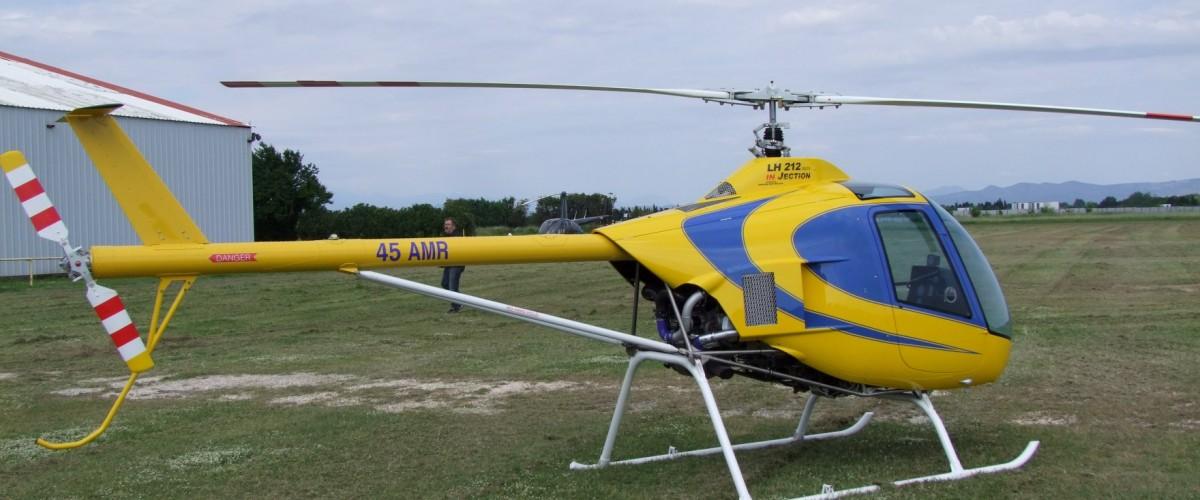 Baptême de l'air en hélicoptère à Leucate