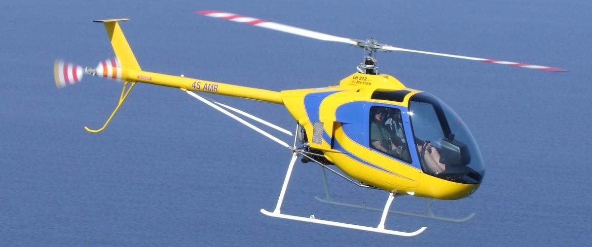 Baptême de l'air en hélicoptère entre Cerbère et Gruissan