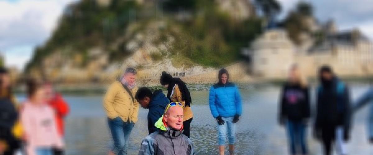 """Sortie en Baie du Mont St Michel """"Sables mouvants et Mascaret"""" !"""