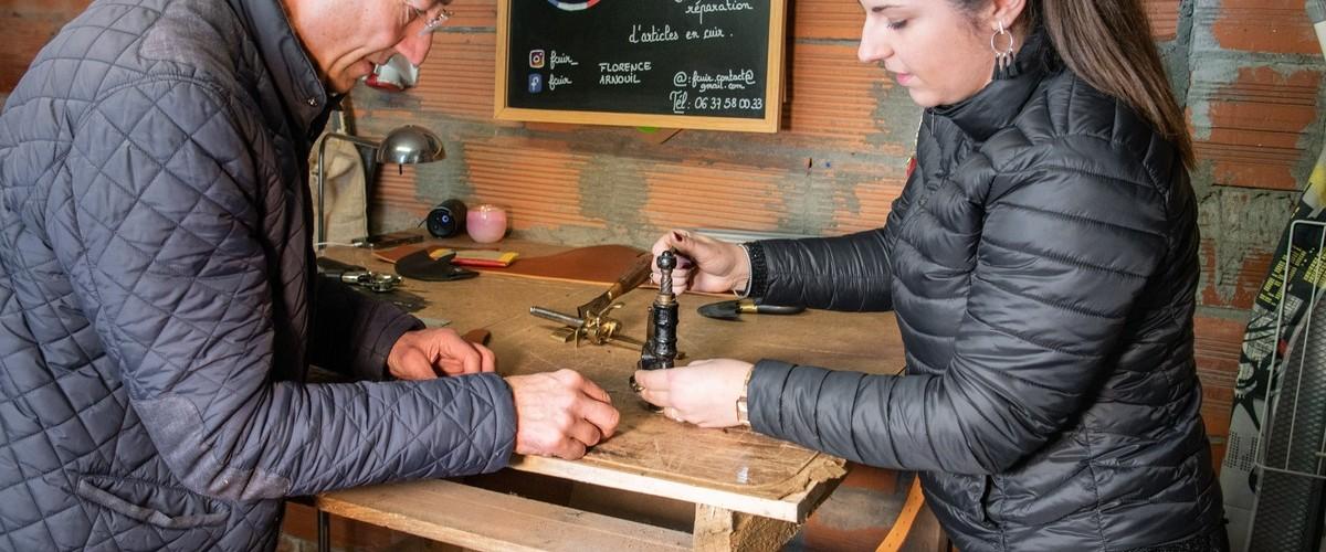 Atelier création de sac à Bruges
