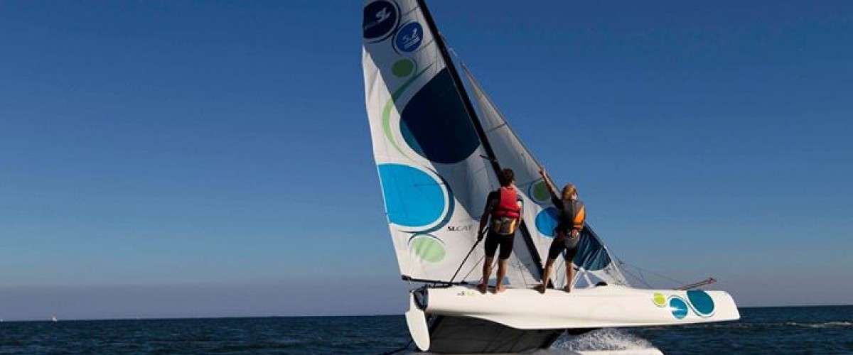 Cours particulier en catamaran à Saint Gildas de Rhuys