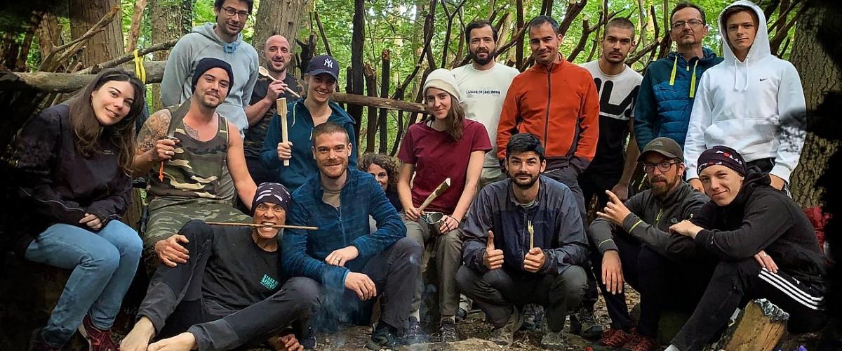 Stage de Survie avec bivouac en milieu forestier à côté de Saint-Etienne