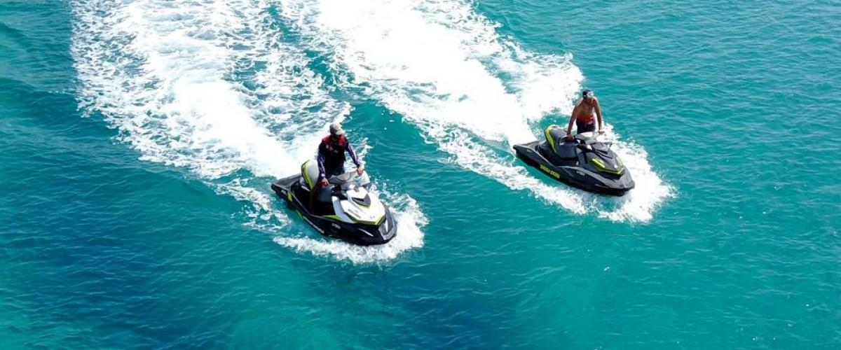 Randonnée en Jet ski : Piana, Scandola et Girolata