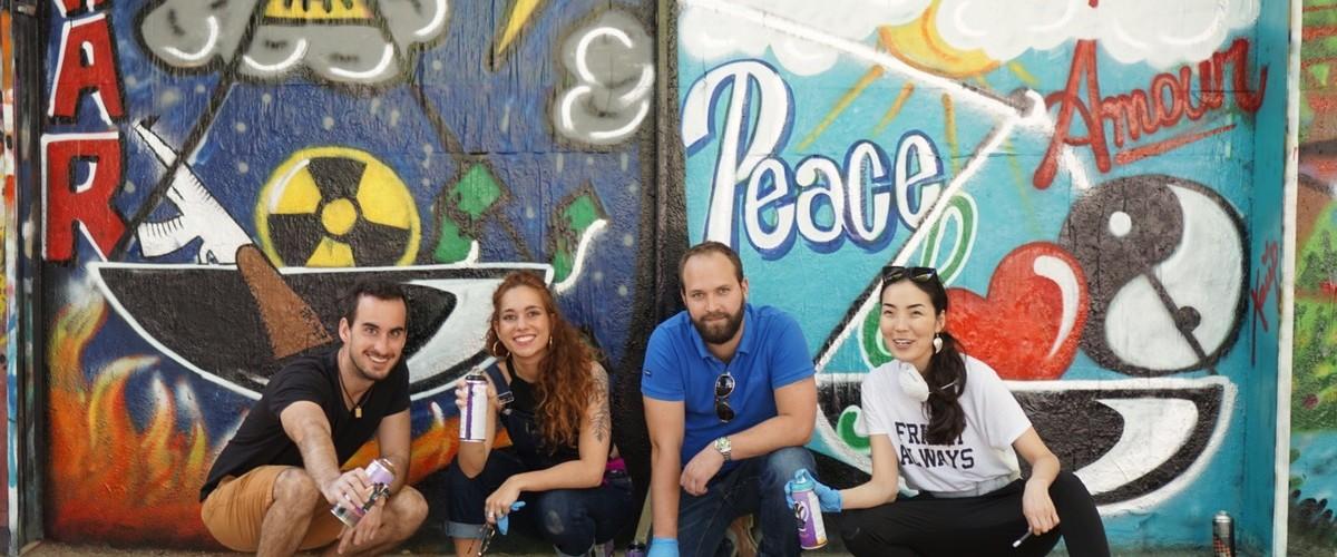 Initiation au graffiti à Paris