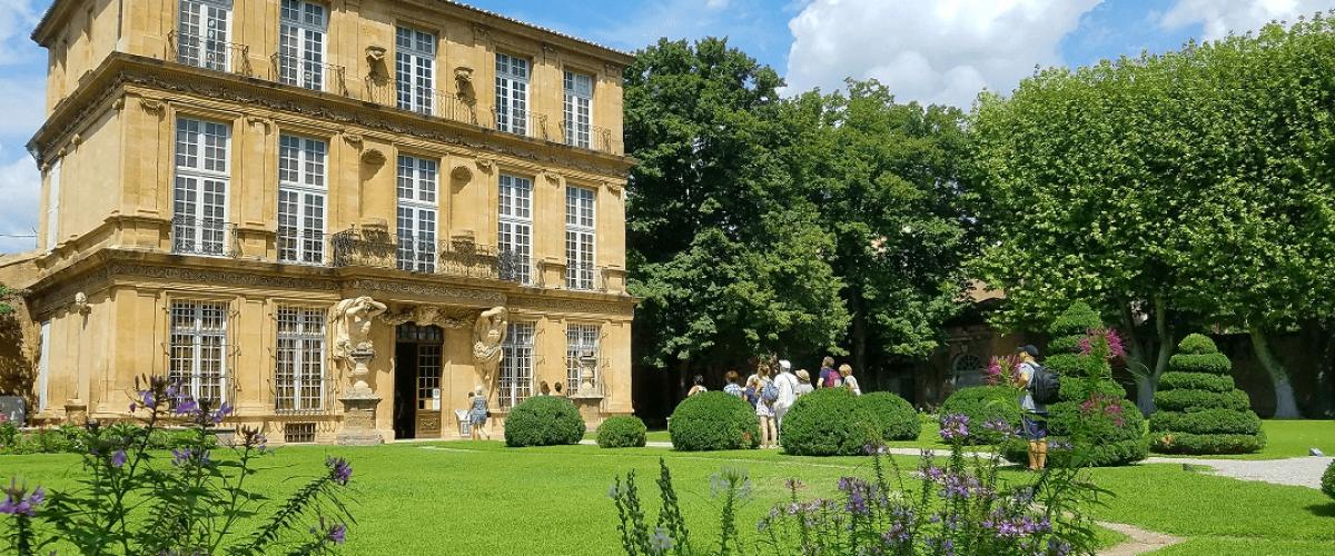 Visite publique des fontaines & jardins d'Aix-en-Provence