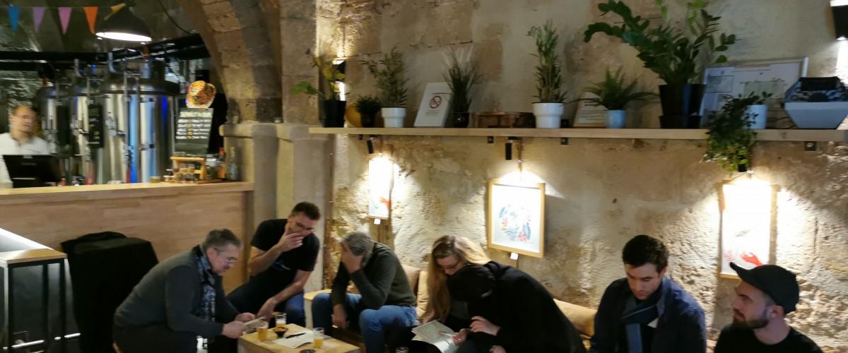 Jeu de piste sur le thème de la bière à Montpellier