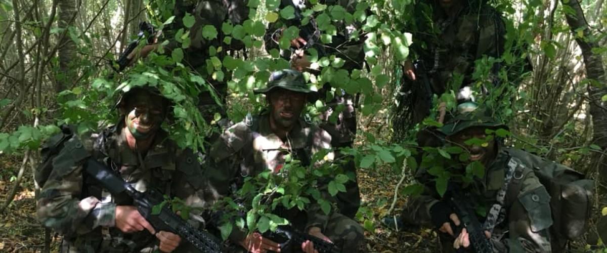 Stage d'initiation opération commando à proximité de Beaune